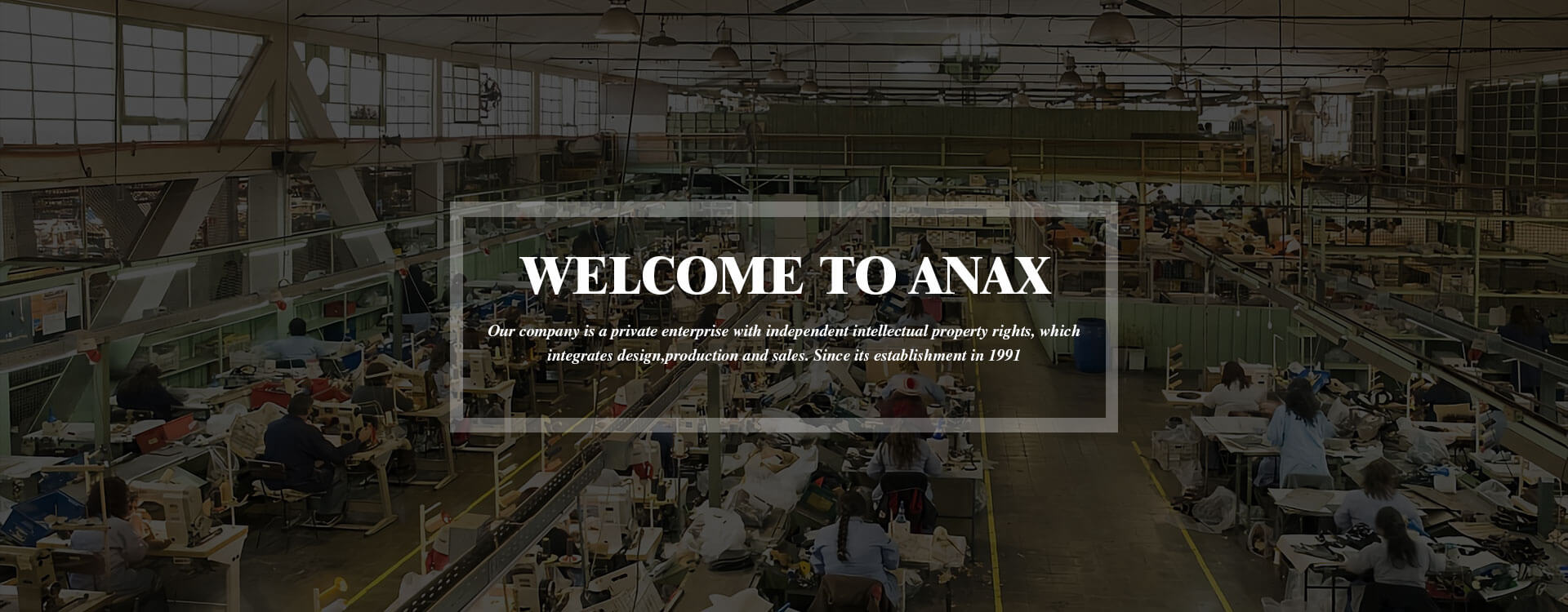 (UK)Anax Shoes Factory